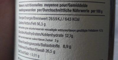 Amandino Purée d'amandes grillées - Informations nutritionnelles - fr