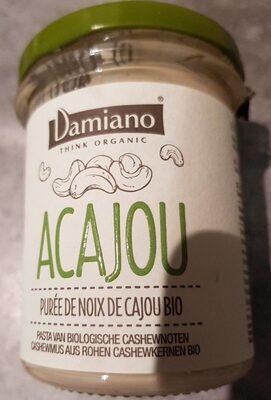 Purée de noix de cajou bio - Produit - fr