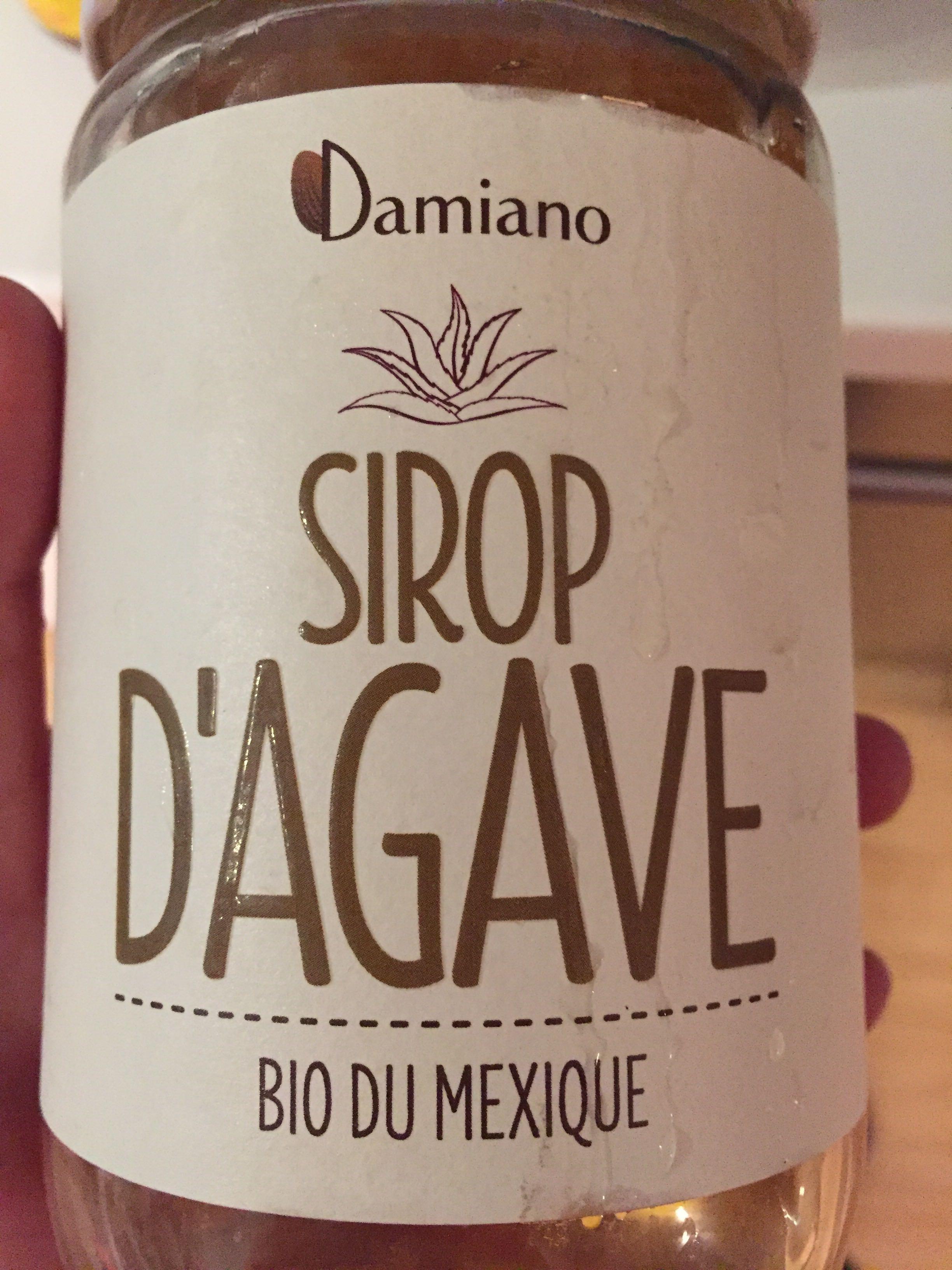 Sirop d 39 agave bio du mexique damiano 840 g - Agave du mexique ...