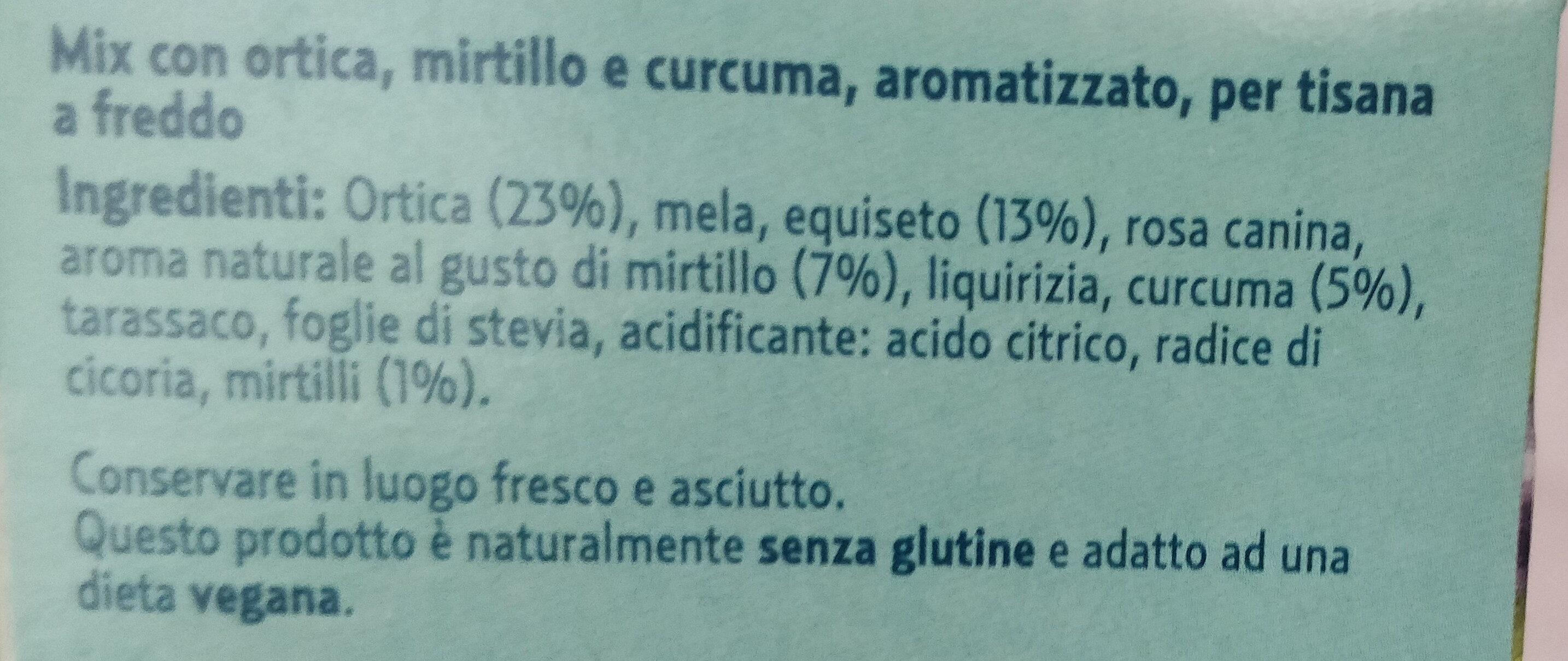Tisana fredda gambe leggere - Ingredients - it