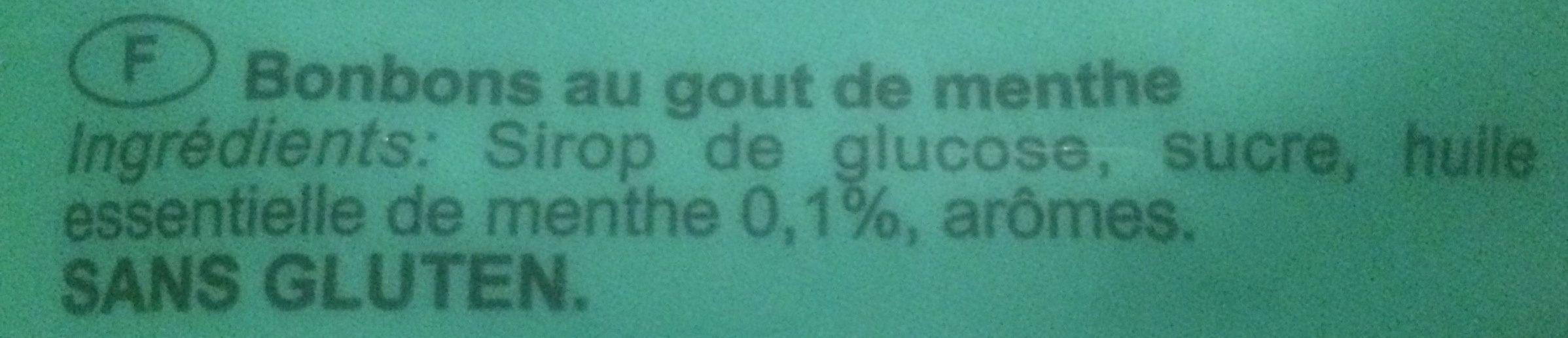 Liking Caramelle Menta Dura GR. 250 - Ingrediënten - fr