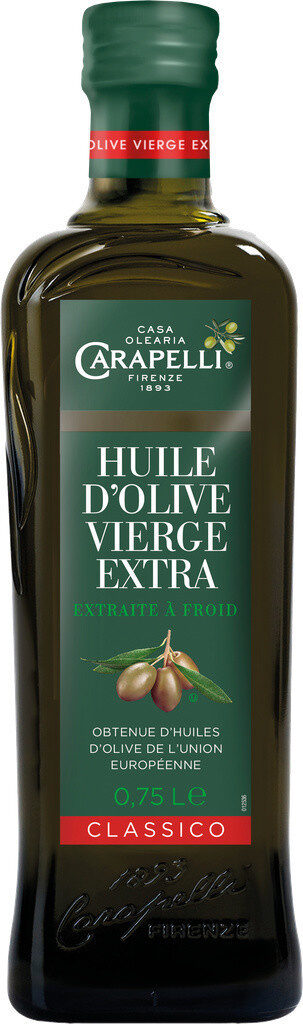 Huile d'olive vierge extra Classico 75 CL - Product - fr