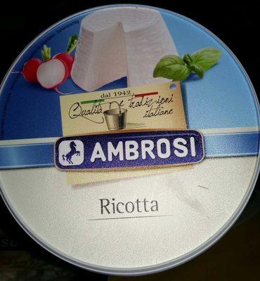 Ambrosi - Ricotta - Product - fr