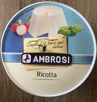 Ambrosi - Ricotta - Nutrition facts - fr