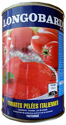 Tomates pelées italiennes - Produkt