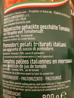 Pomodori pelati Triturati - Inhaltsstoffe