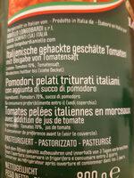 Pomodori pelati Triturati - Ingredients - it