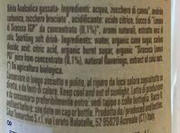 Organic Cola - Ingrédients - fr
