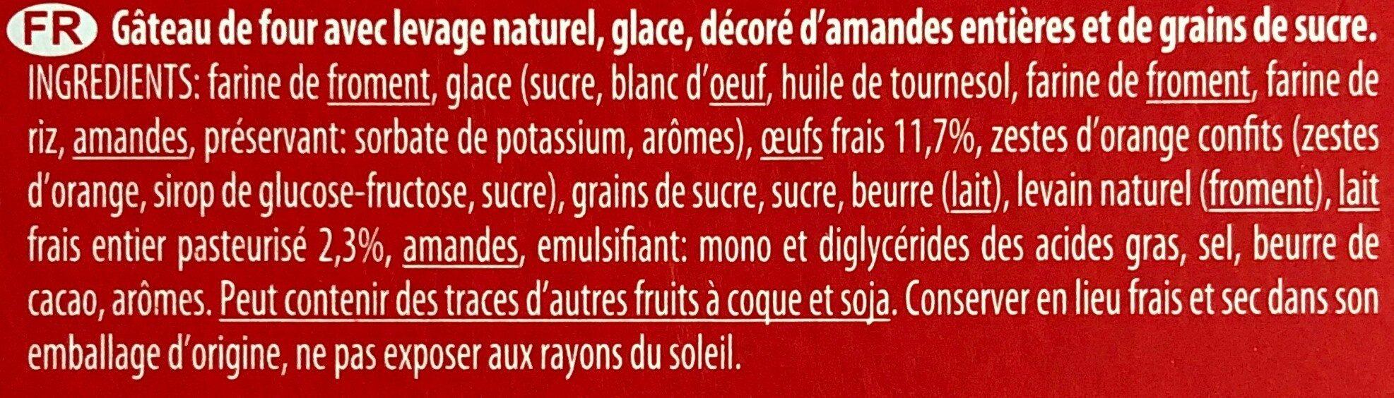 Paluani - Ingrédients - fr