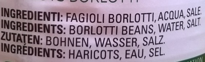 Fagioli borlotti - Ingredienti