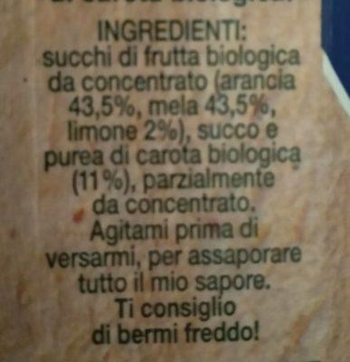 Bio Ace - Ingrédients