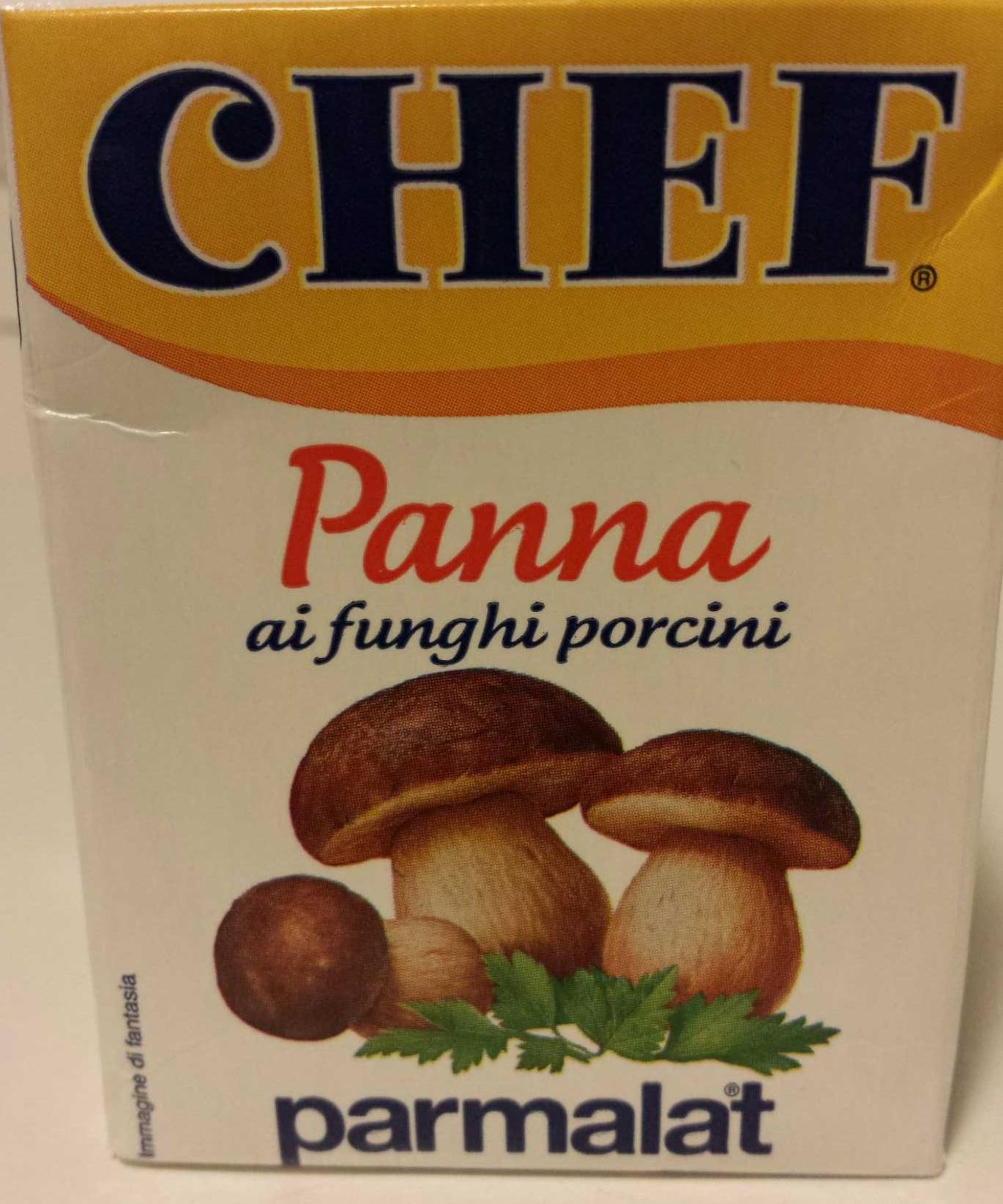 PARMALAT Panna ai funghi porcini Chef - Product - it