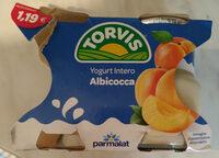 yogurt intero all'albicocca - Produit - it