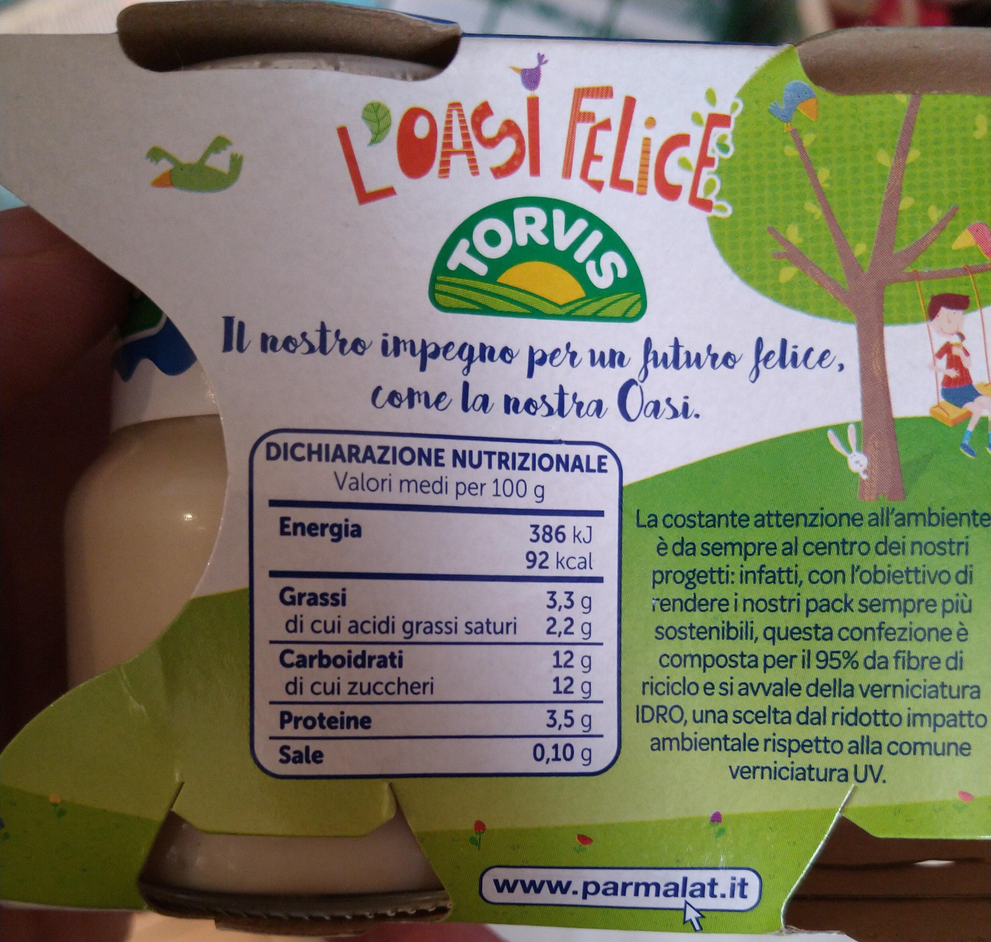 yogurt intero all'albicocca - Informations nutritionnelles - it