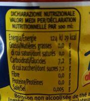 Parmalat Santal Te Limone - Informations nutritionnelles - fr