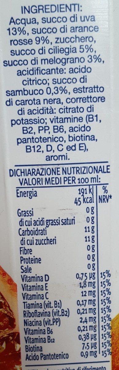 Frutti rossi - Ingrédients - fr