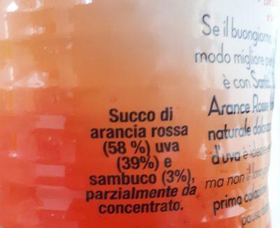 Parmalat Santal 100% Aran Rossa L1 - Ingrédients