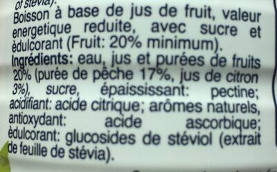 Refresh - Ingrédients