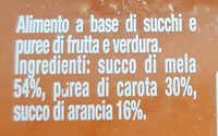 Le centrifughe arancia - Ingrédients - fr