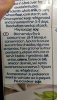 Parmalat Bescamella - Ingredients - fr
