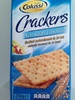 Non salati Unsalted Crackers - Product