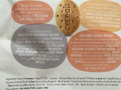 Multigrain - Biscotti ai 6 cereali - 1