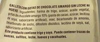 Privolat biscotti con gocce di cioccolato - Ingredientes - es
