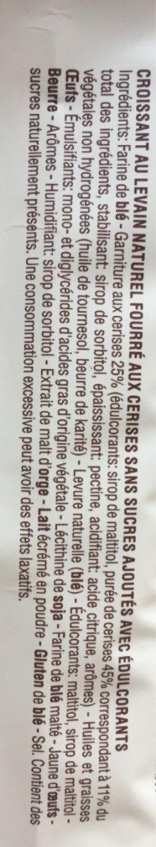 Croissant alla ciliegia - Ingredienti