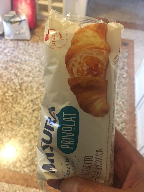 Croissant à l'abricot - Produit - fr