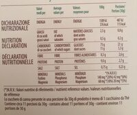 Cereali Antichi - Informations nutritionnelles - fr
