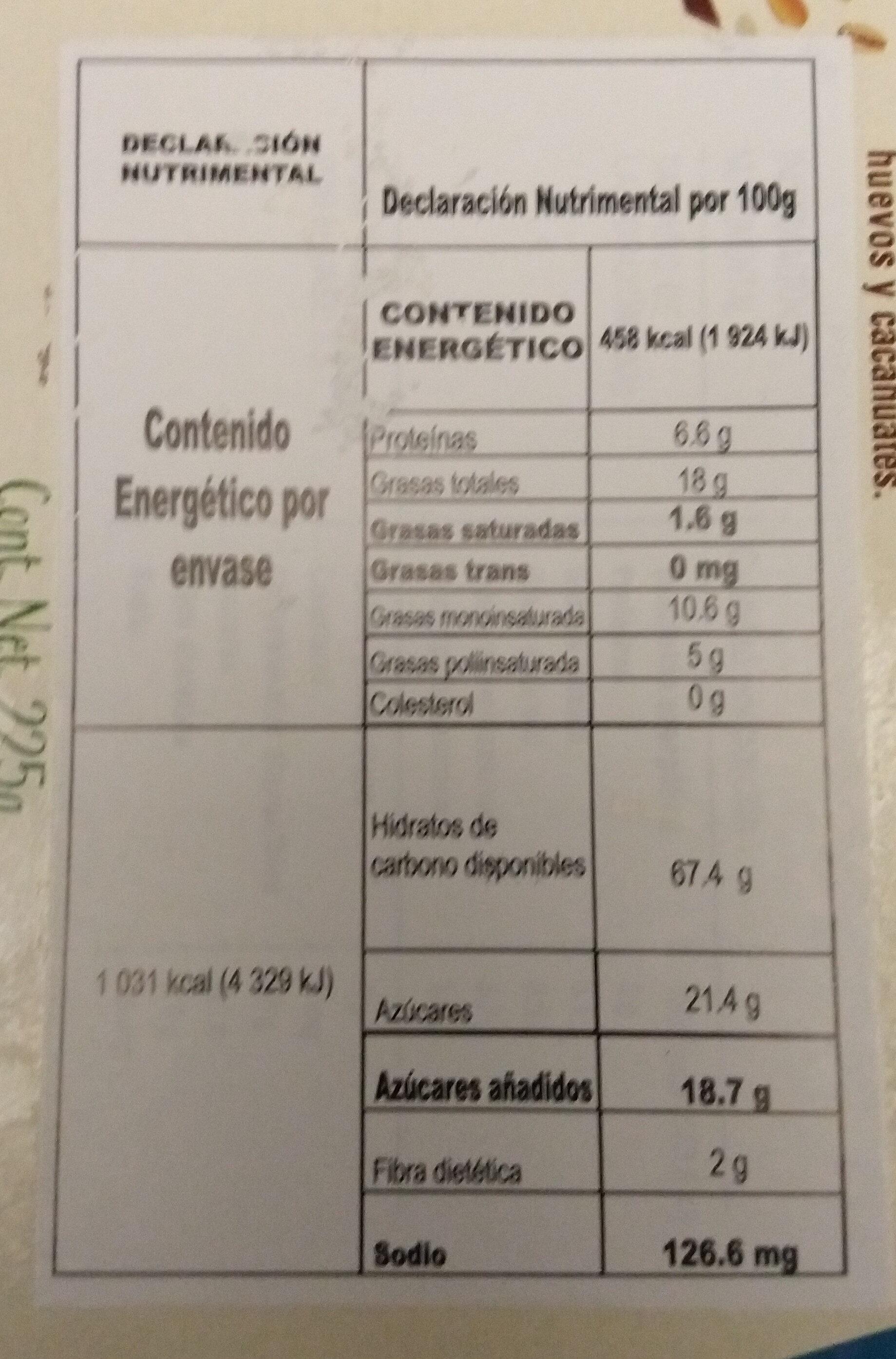 galletas de cereales & cacao - Produkt - es
