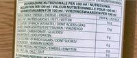 Barbera Olio Extra Vergine Non filtrato - Informations nutritionnelles - fr