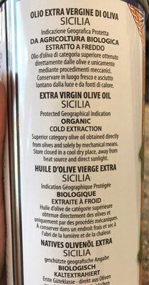 Barbera olio extra vergine di Oiva - Informação nutricional - fr