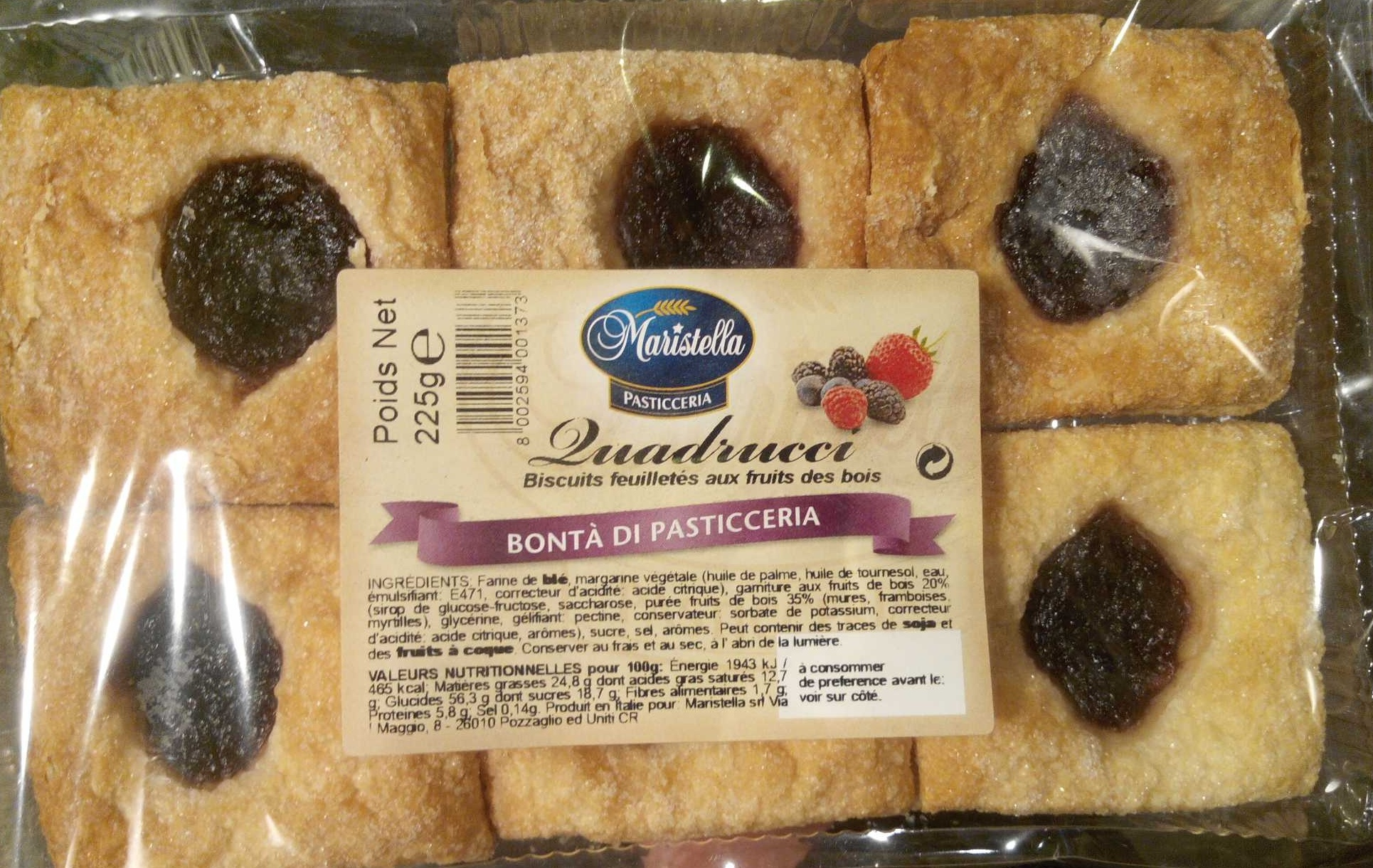 Bontà di Pasticceria - Produit - fr
