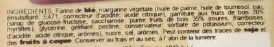 Bontà di Pasticceria - Ingrédients - fr