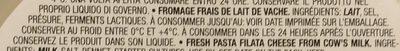 Mozzarelline - Ingrédients - fr