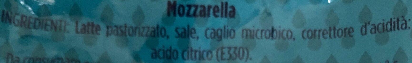 Mozzarella - Ingredienti - it