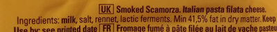 Scamorza affumicata - Ingredients - en