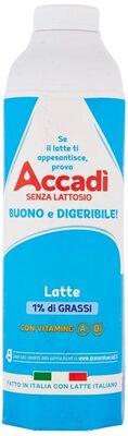Accadì Latte 1% di Grassi con Vitamine A, D₃ - Prodotto