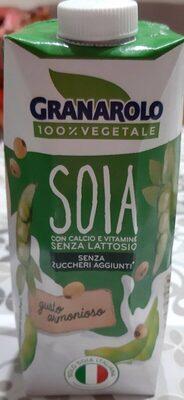 Bev. soia Uht ML500 Granarolo senza zuccheri aggiunti - Prodotto - it