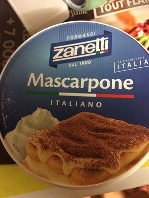 Mascarpone Zanetti 250 GR - Produit - fr