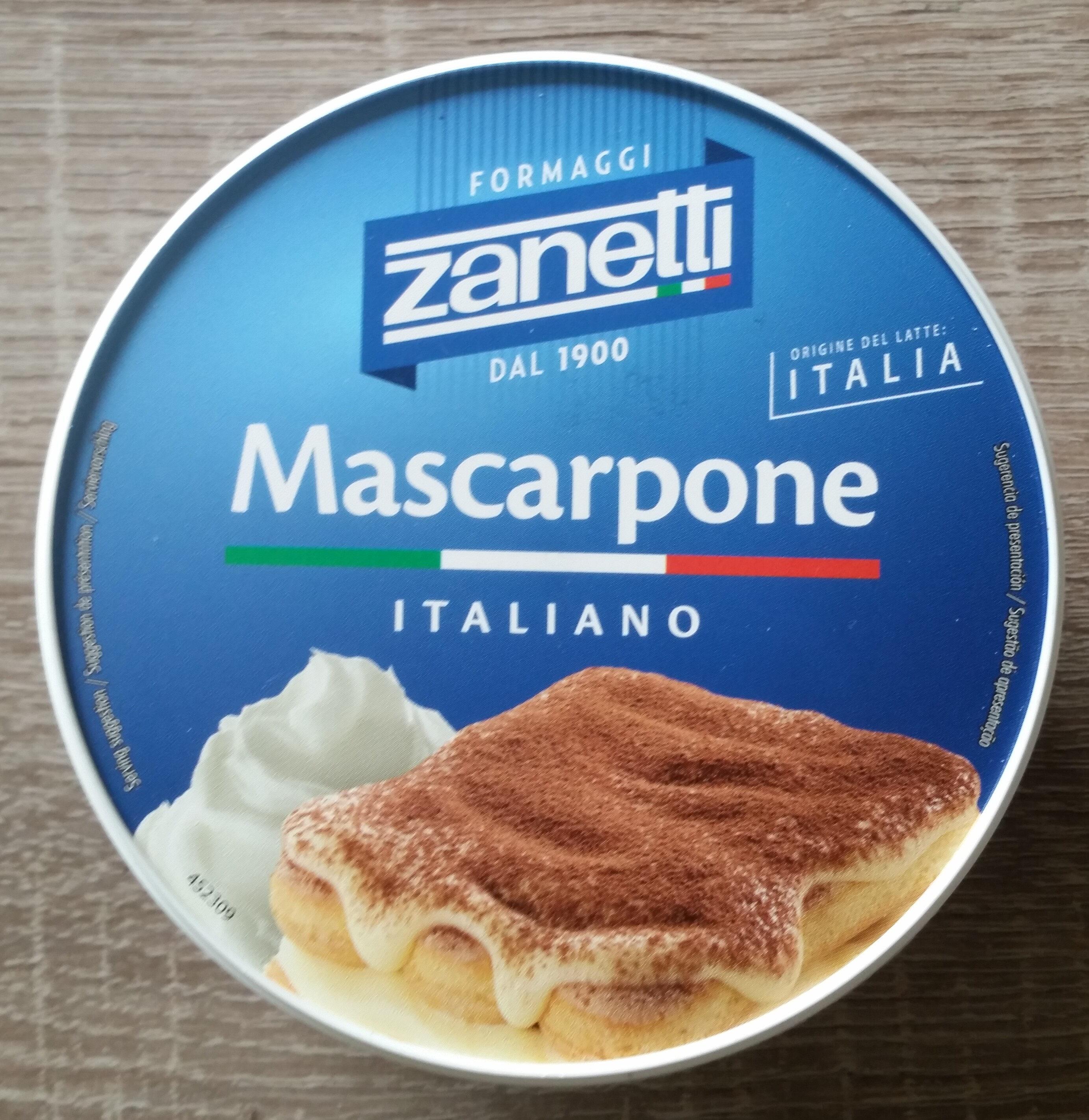 Mascarpone Zanetti 250 GR - Producto - sk