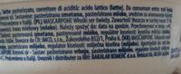 Mascarpone Zanetti 250 GR - Ingredientes - sk