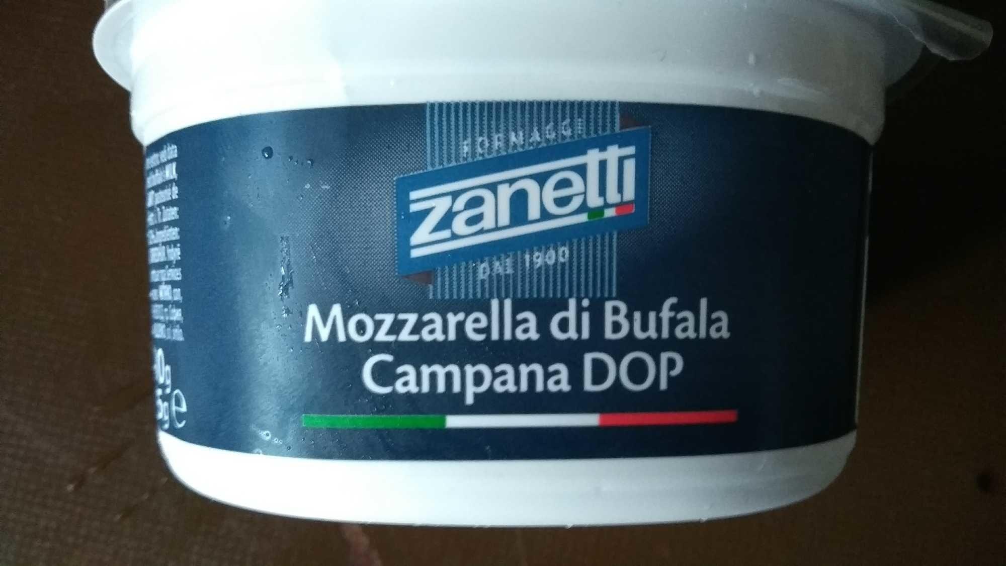 Zanetti Fresh Mozarella Cheese Buffalo Cup (125 G) - Product - nl