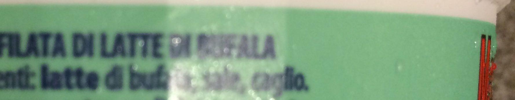 Mozzarella di bufala campana - Ingredients