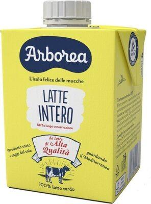 Latte intero uht arborea - Produit - fr