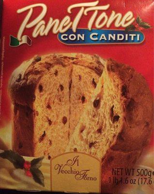 Il Vecchio Forno - Panettone Con Canditi - Product