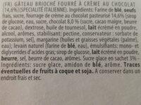 Ciocco d'Oro classic farcito al cioccolato - Ingredients