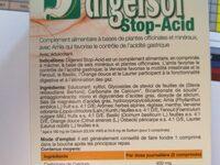 Digersol - 20 Comprimés - Biothalassol - Ingrédients - fr