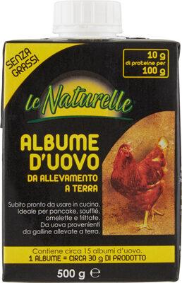 Albume d'uovo da allevamento a terra - Produit - it